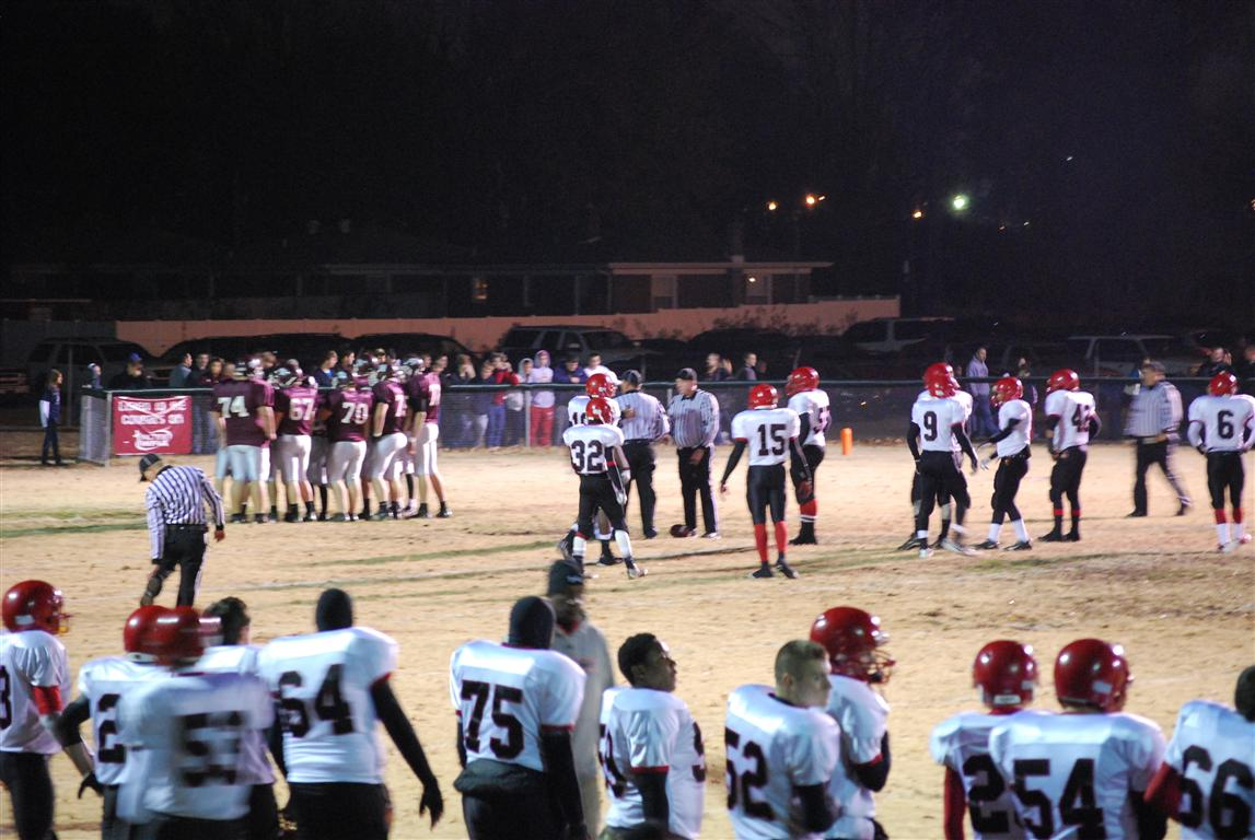 Mayfield vs. Holy Cross (Round 3 KHSAA 1A Playoffs) 11-19-2010