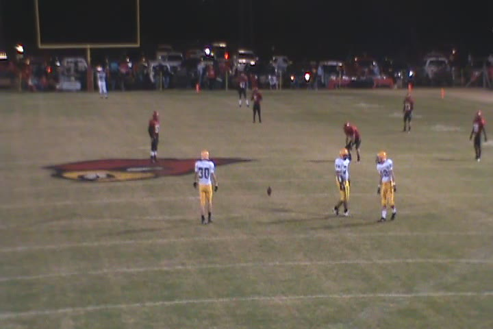 Mayfield vs. Caldwell County video replay 10-28-2010