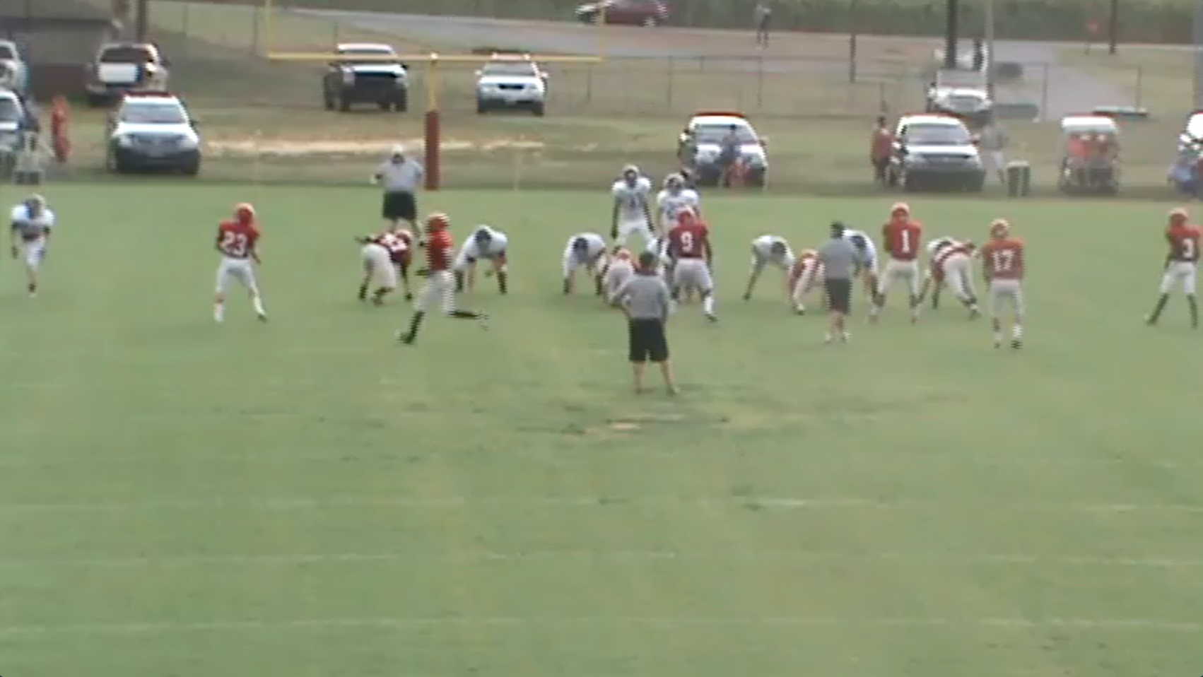 MMayfield vs. Milan TN 8-4-2012  (Scrimmage)